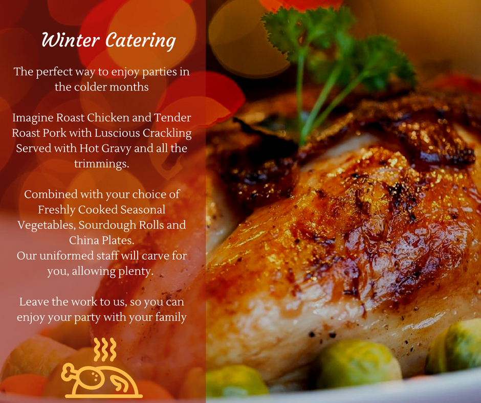 Winter Catering Grinners Catering
