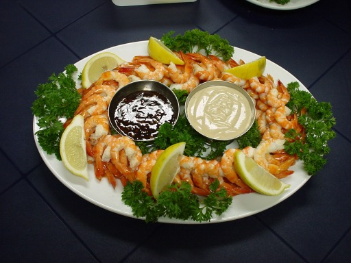 Grinners Catering Newcastle Prawn Platter Seafood Caterer