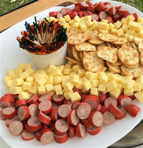 Grinners Catering Newcastle Cheese Cabanossi Caterer Appetiser